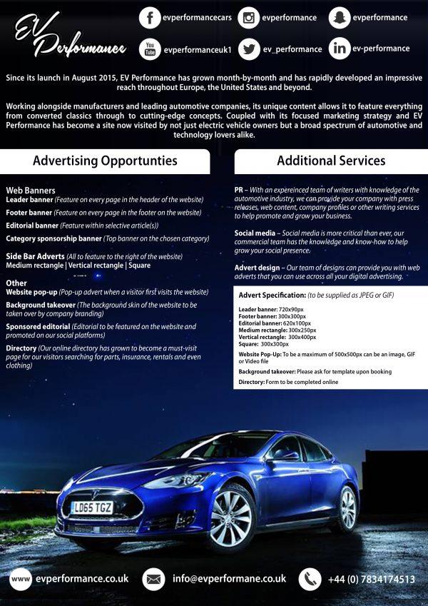 EV Performance Media Information