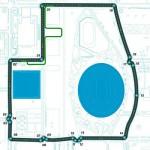 Beijing Formula E track