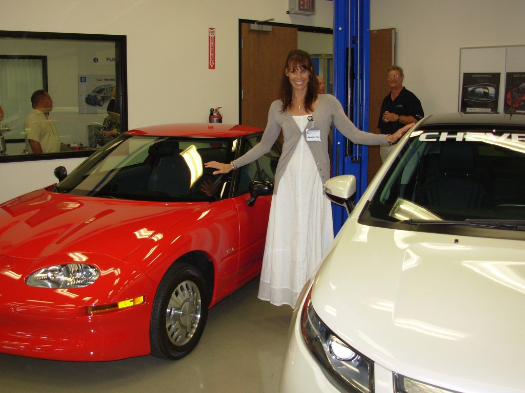 Alexandra Paul EV1 General Motors GM electric car