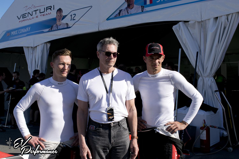 Formula E | Mike Conway and Stephane Sarrazin Long Beach ePix