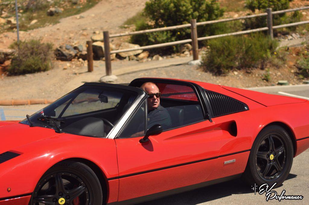 Ferrari 308 GTE electric car EV