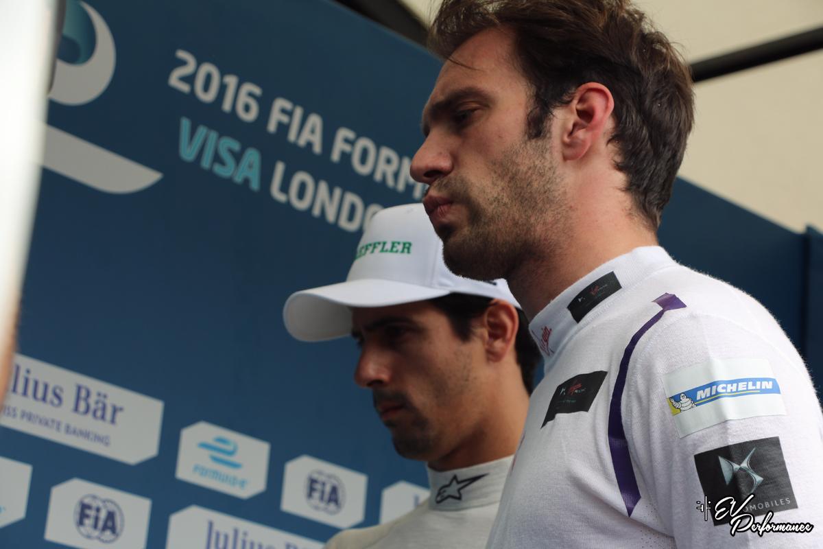 Sebastien Buemi London Formula E
